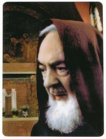 """Padre Pio Picture - Padre Pio - 4"""" Magnet"""