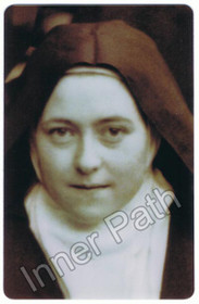 St. Therese Picture - St. Therese of Lisieux - 5x7 Laminated