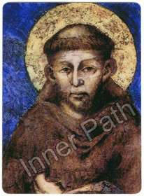 "St. Francis Picture - St. Francis of Assisi - 4"" Magnet"