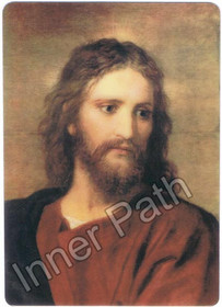 "Jesus Christ Picture - Christ at 33 - 4"" Magnet"