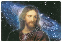 "Jesus Christ Picture - Body of Christ - 4"" Card"