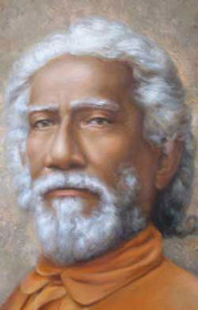Swami Sri Yukteswar Photo - Close Up - Wallet Altar