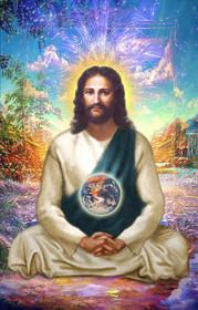 Jesus Christ Magnet - Meditating in the Astral World