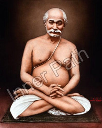 Lahiri Mahasaya in Lotus Asana Picture - Color Photo - 8x10