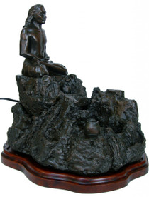 Fountain with Yogi (Babaji) - 15""