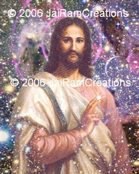 Jesus Christ Picture - Cosmic Christ - 8x10