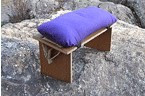 Meditation Bench Cushion - with Velcro Straps