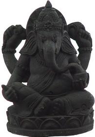 Ganesha - Volcanic Stone Statue