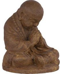Praying Monk Statue