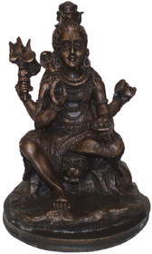 Shiva Statue - Antique Resin