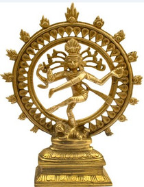 Brass Nataraj