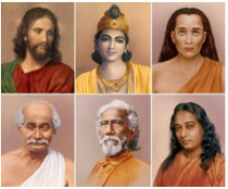 Altar Set - Yogananda Line - 6 Photos - Color 5x7