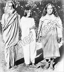 Anandamayi Ma Photo - With Yogananda - 5 x 5 1/2