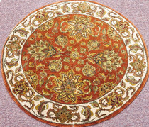 Meditation Mat - Wool - India Oushak