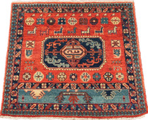 Meditation Mat - Wool - India Kurd