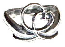 Joy Is Within You Ring - Sterling Silver