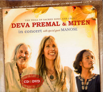 Deva Premal & Miten in Concert (with special guest Manose) CD & DVD