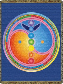 Sacred Centers Tapestry Throw