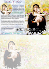 Mother Mary and Child - Greeting Card