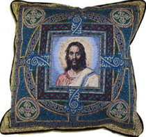Christ Mandala Pillow