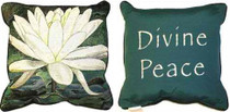 White Lotus/Divine Peace Pillow