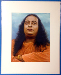 Paramhansa Yogananda Cloud Background Art Print - 16 x 20