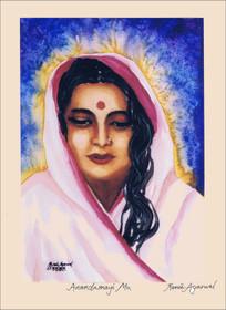 Anandamayi Ma Art Print - 11x14