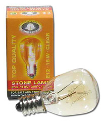 Salt Lamp Replacement Light Bulb 15 Watt