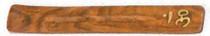 Om Wood Incense Holder