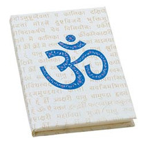 Cosmic Om Sanskrit Eco-Diary