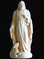 Statue - Jesus and Lamb - Small