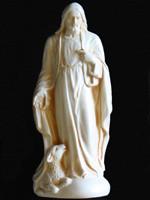 Statue - Jesus and Lamb - Large