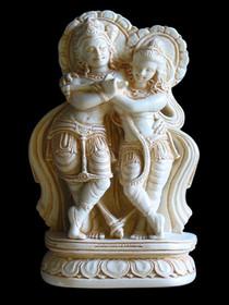 Radha Krishna Statue Small