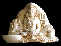 Meditating Shiva Statue Large
