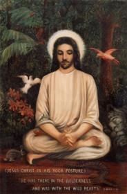 Christ the Yogi 5x7