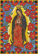 Our Lady of Guadalupe - Tall Jar Candle
