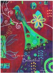 So Beautiful - Greeting Card