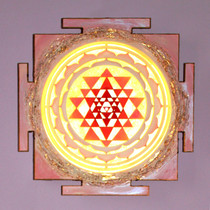 Sri Yantra Sculpture