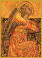 Renaissance Angel - Tall Jar Candle