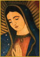 La Virgen de Guadalupe - Short Jar Candle