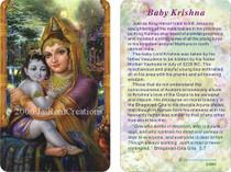Baby Krishna - Wallet Altar