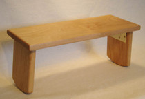 Meditation Bench - Folding - Alder Solid Wood