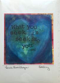 Seeking - Greeting Card
