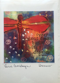 Dreamer - Greeting Card