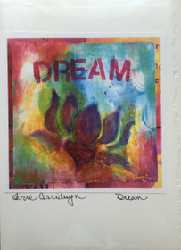 Dream - Greeting Card