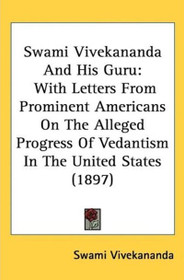 Swami Vivekananda and His Guru - Hardcover