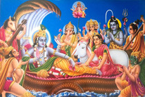 Vishnu & Deities - Poster