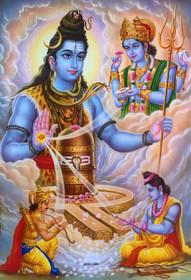 Shiva Blessing - Poster