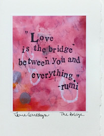 The Bridge - Greeting Card