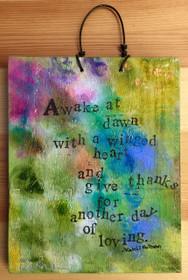 Awake at Dawn... - Original Art